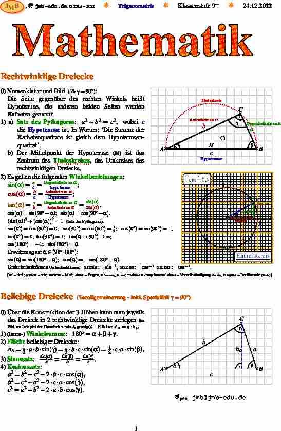 Schön Trigonometrie Arbeitsblatt T3 Seiten Antworten Berechnung ...